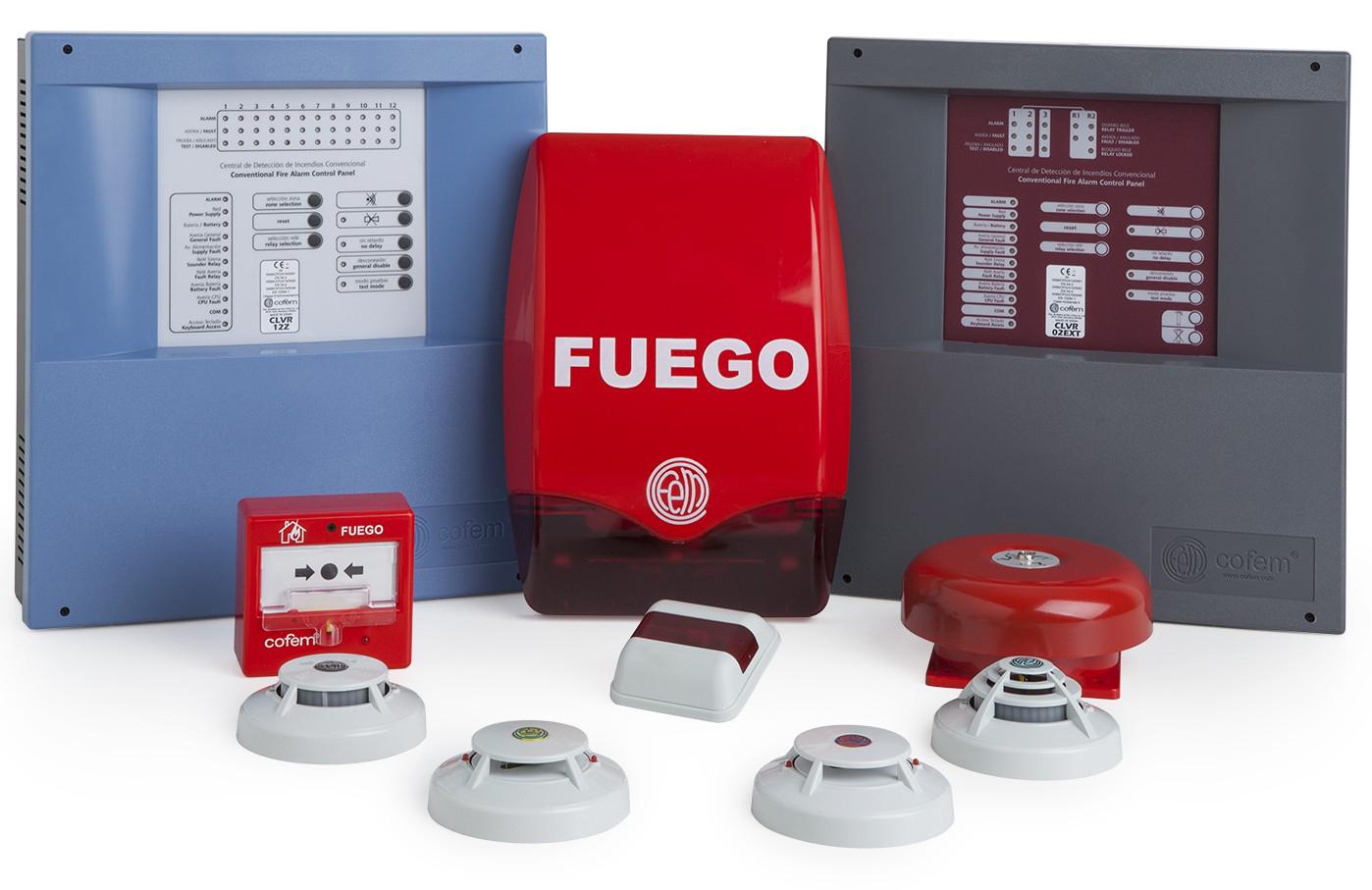Alarmas para prevenir incendios