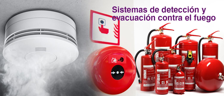 Sistemas de prevención de incendios