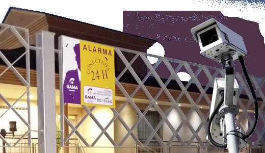 Empresa de seguridad Alarmas GAMA