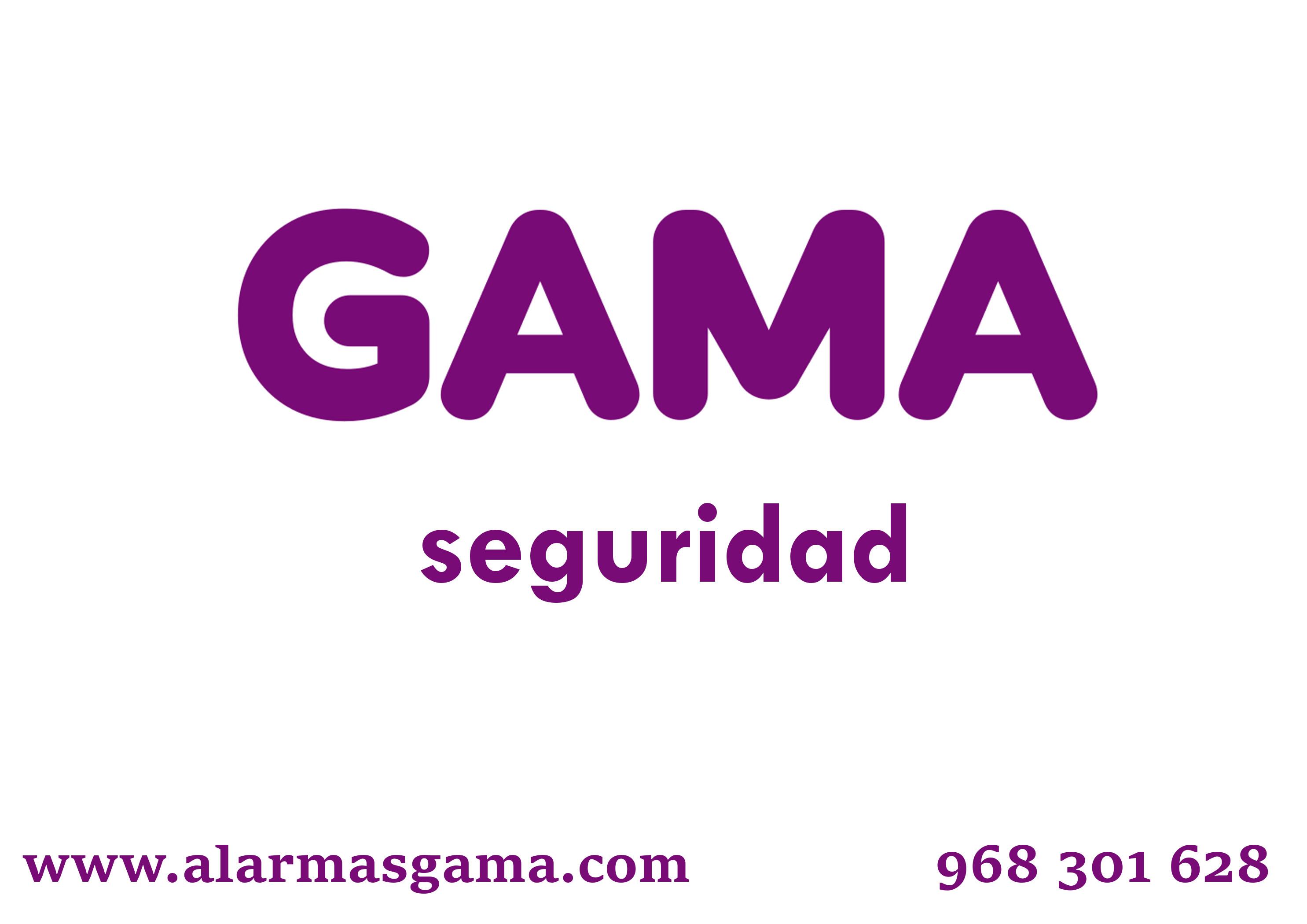Logcon número de teléfono 968301628otipo de Gama Seguridad