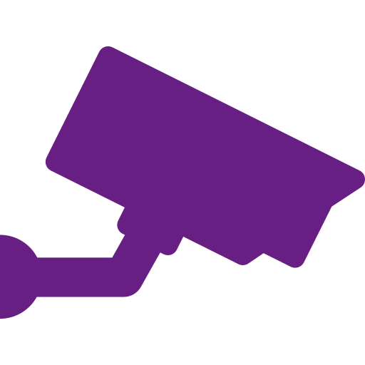 icono de cámara de videovigilancia