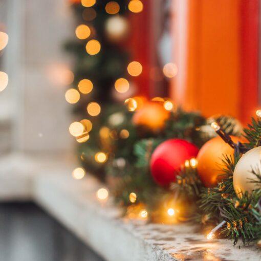 Luces y decoración de navidad para el hogar